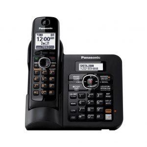گوشی تلفن بیسیم پاناسونیک مدل Panasonic-KX-TG3821BX ساخت مالزی