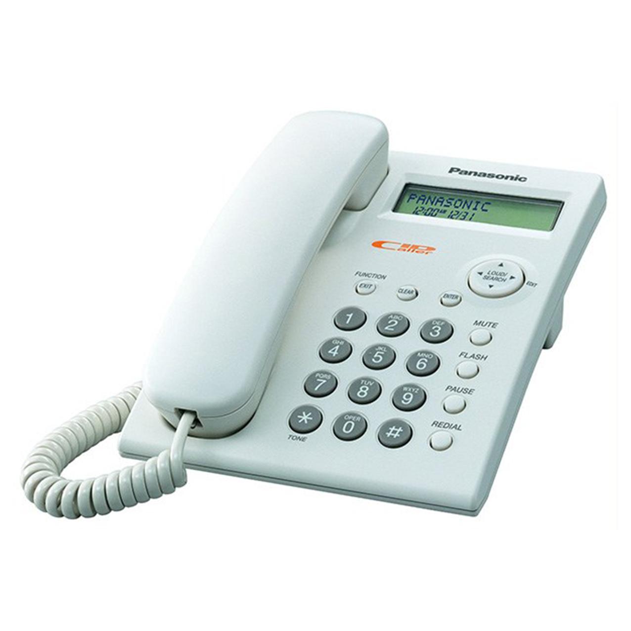 گوشی تلفن رومیزی پاناسونیک مدل Panasonic-KX-TSC11MX ساخت مالزی | سفید