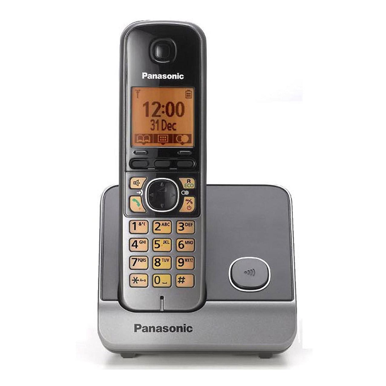 گوشی تلفن بیسیم پاناسونیک مدل Panasonic-KX-TG6711 | نقره ای