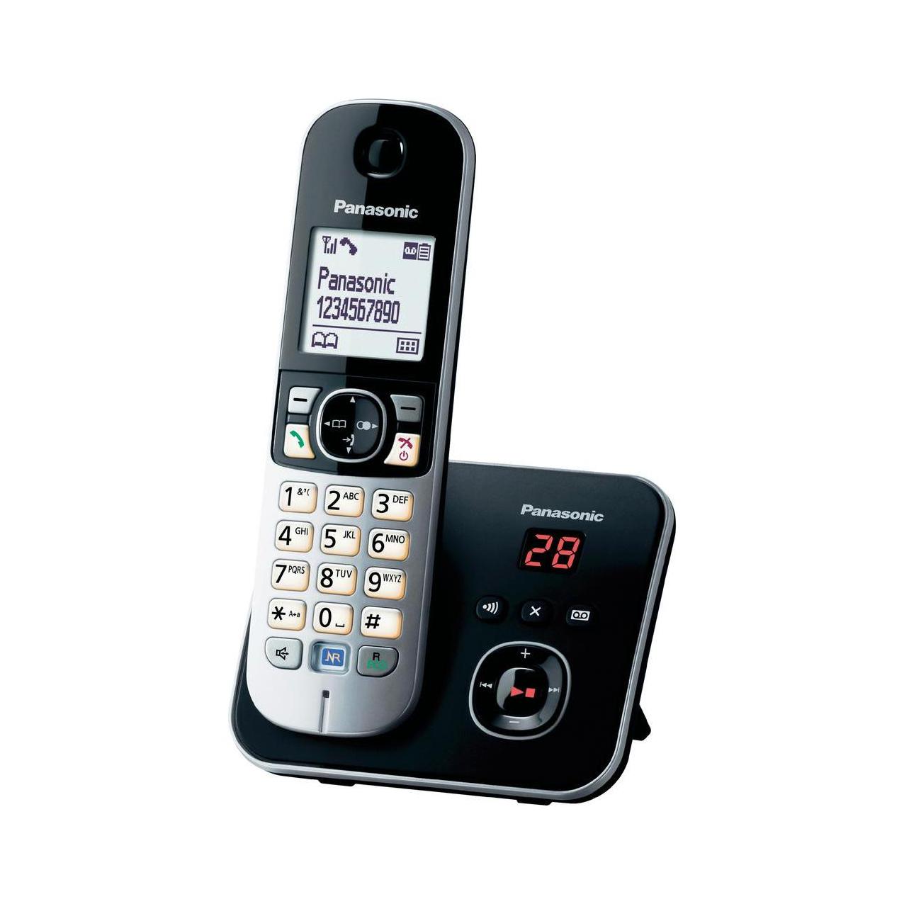 گوشی تلفن بیسیم پاناسونیک مدل Panasonic-KX-TG6821 ساخت مالزی