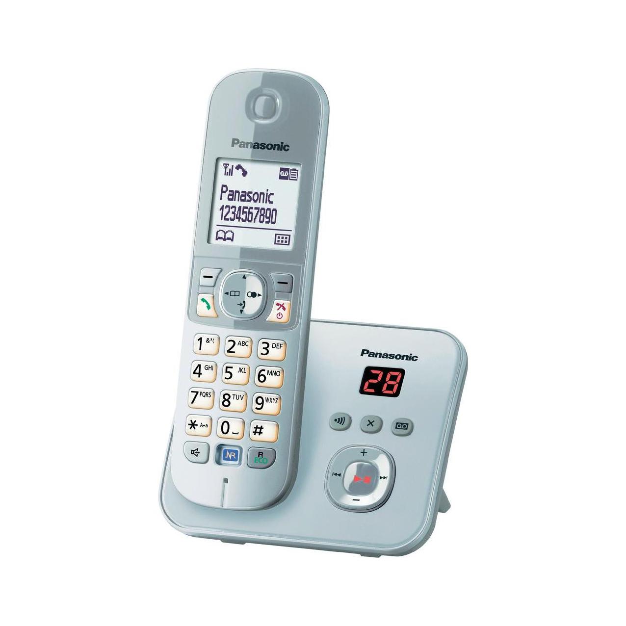 گوشی تلفن بیسیم پاناسونیک مدل KX-TG6821 سفید