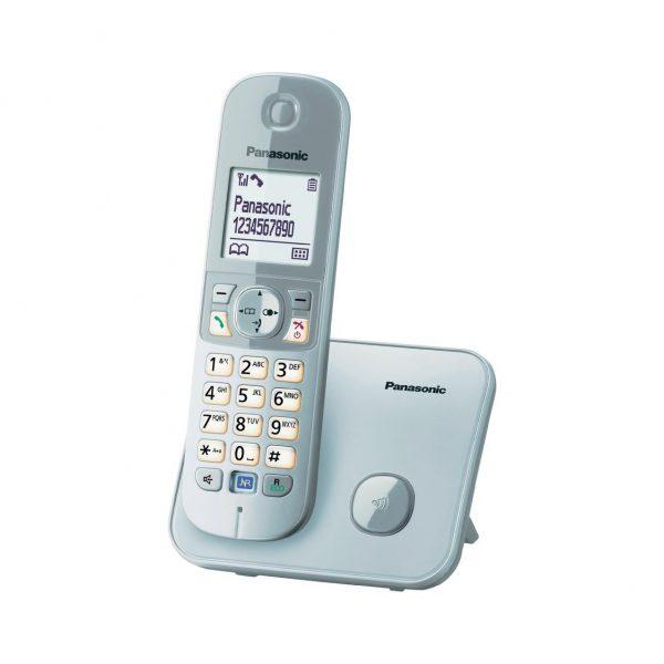 گوشی تلفن بیسیم پاناسونیک مدل KX-TG6811 سفید
