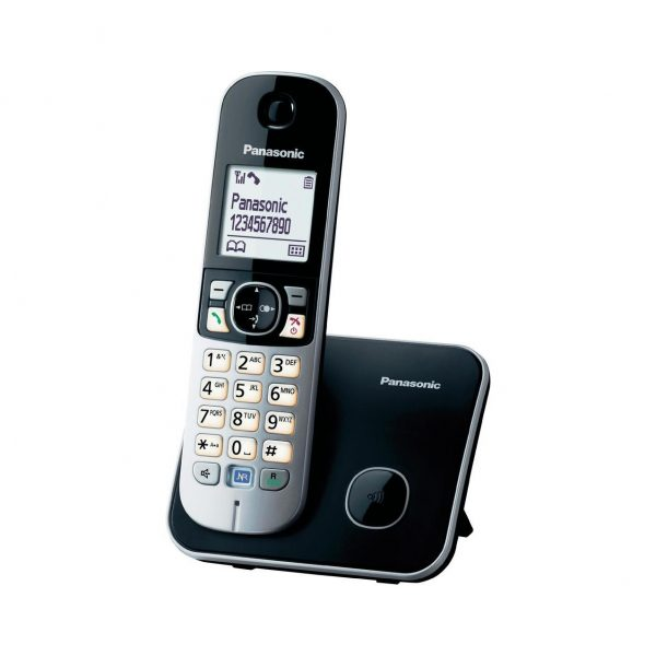 گوشی تلفن بیسیم پاناسونیک مدل KX-TG6811 نقره ای