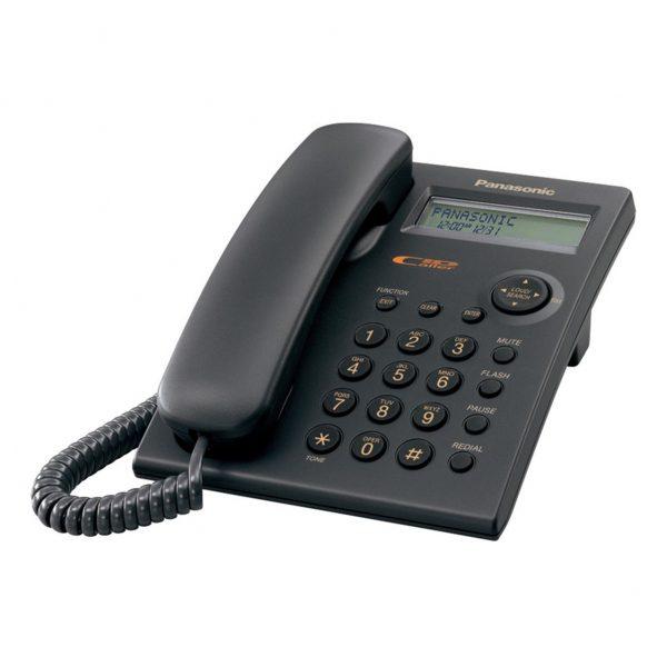 گوشی تلفن رومیزی پاناسونیک مدل Panasonic-KX-TSC11MX ساخت مالزی | مشکی