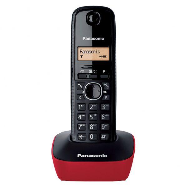 گوشی تلفن بیسیم پاناسونیک مدل KX-TG1611SPH قرمز