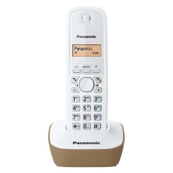 گوشی تلفن بیسیم پاناسونیک مدل KX-TG1611SPH سفید