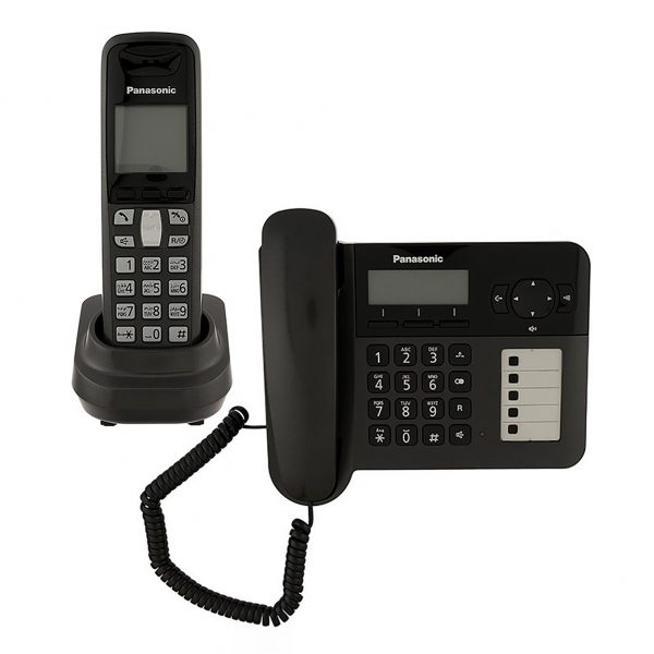 گوشی تلفن بیسیم پاناسونیک مدل Panasonic-KX-TG6458BX