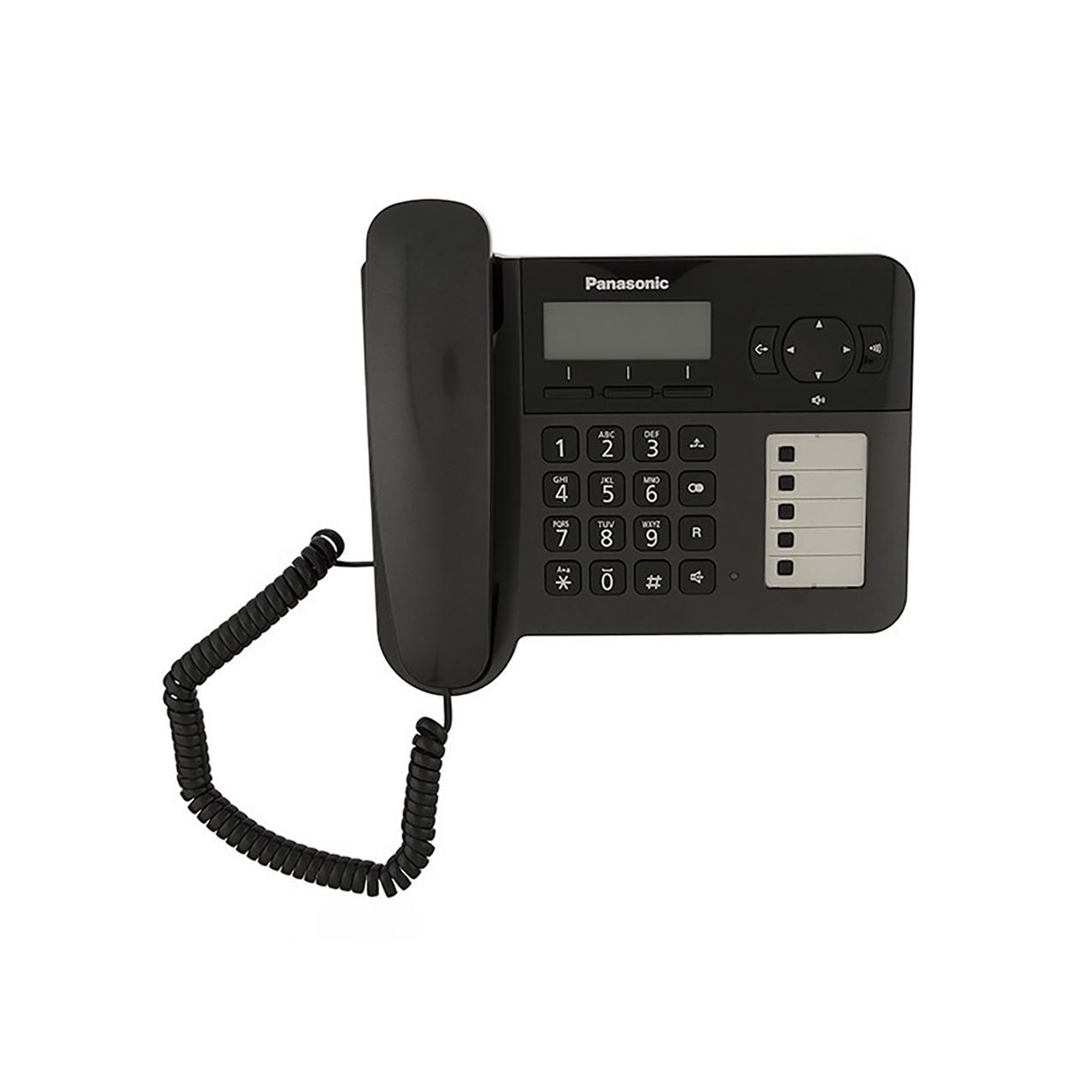 گوشی تلفن بیسیم پاناسونیک مدل Panasonic-KX-TG6458BX | باسیم