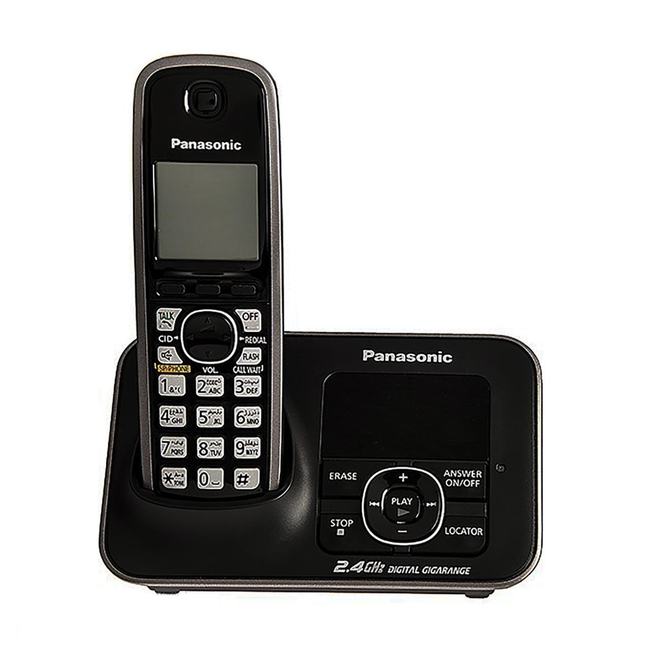 گوشی تلفن بیسیم پاناسونیک مدل Panasonic-KX-TG3721 ساخت مالزی
