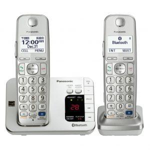 گوشی تلفن بیسیم پاناسونیک مدل Panasonic-KX-TGE262 ساخت مالزی