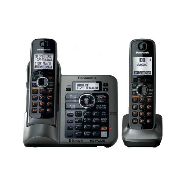 گوشی تلفن بیسیم پاناسونیک مدل Panasonic-KX-TG3822JX ساخت ژاپن