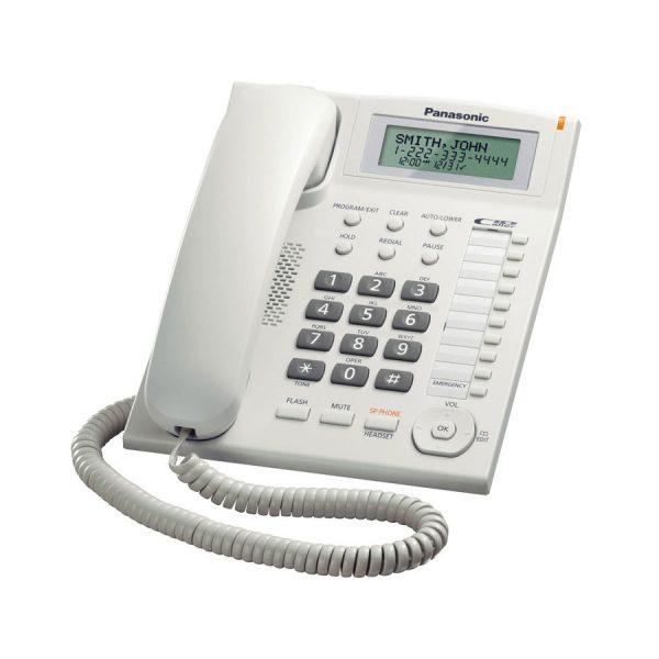 گوشی تلفن رومیزی پاناسونیک Panasonic KX-TS880MX | سفید