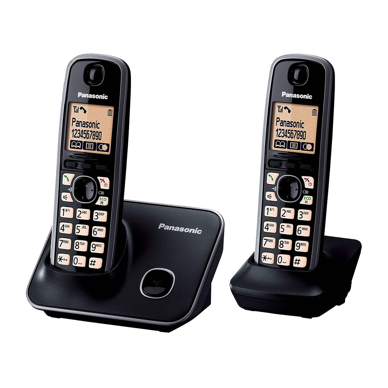 گوشی تلفن بیسیم پاناسونیک مدل Panasonic-KX-TG3712