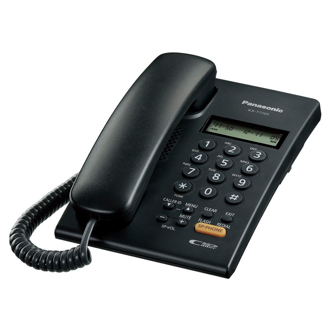 گوشی تلفن رومیزی پاناسونیک مدل KX-T7705X