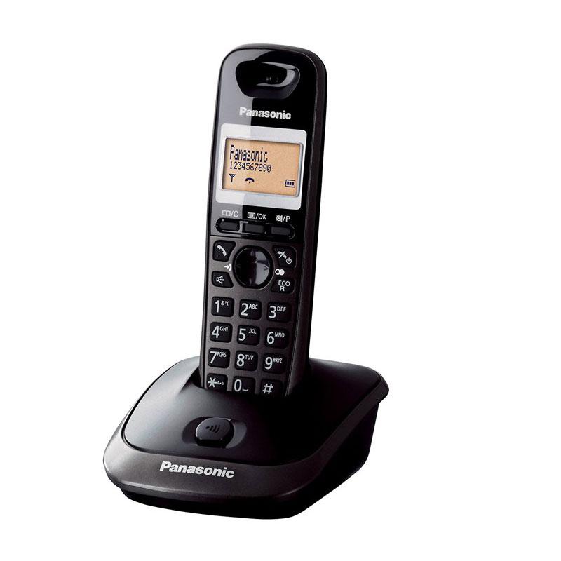 گوشی تلفن بیسیم پاناسونیک مدل Panasonic-KX-TG2511 | مشکی