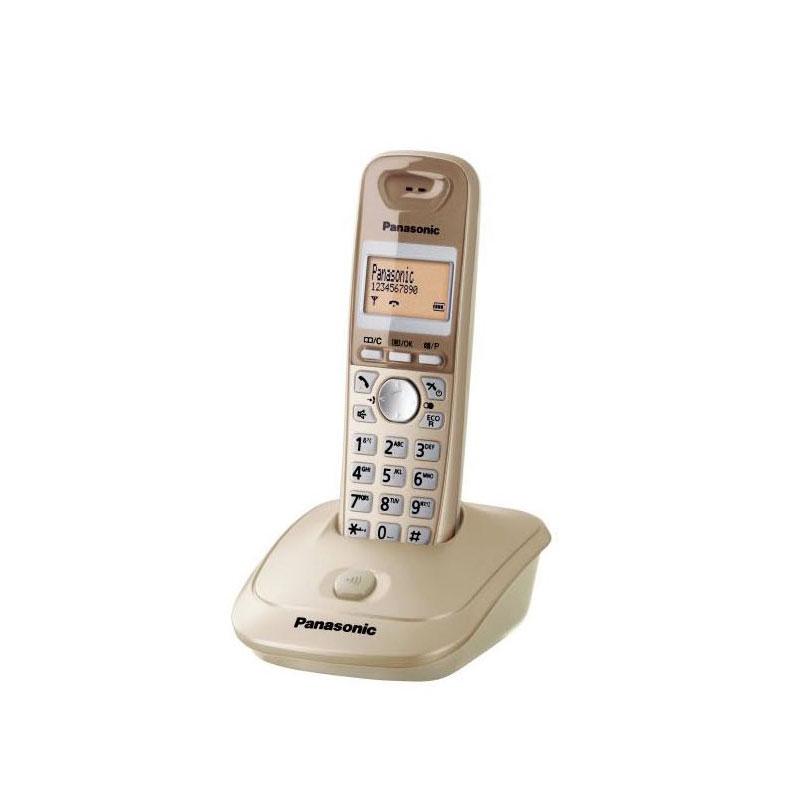 گوشی تلفن بیسیم پاناسونیک مدل Panasonic-KX-TG2511 | بژ