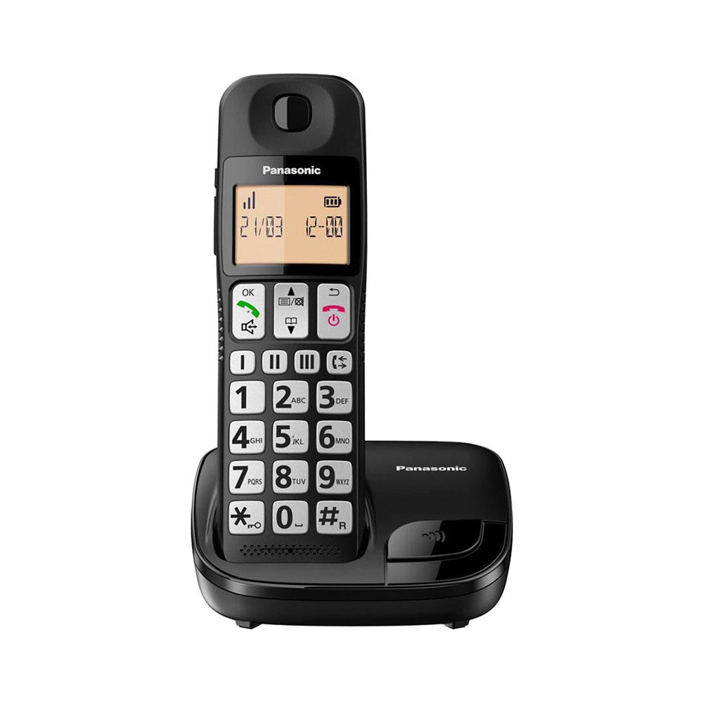 گوشی تلفن بیسیم پاناسونیک مدل Panasonic-KX-TGE110