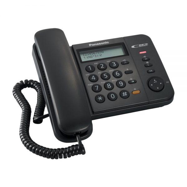 گوشی تلفن رومیزی پاناسونیک مدل Panasonic-KX-TS580MX