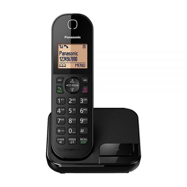 گوشی تلفن بیسیم پاناسونیک مدل Panasonic-KX-TGC410 | مشکی