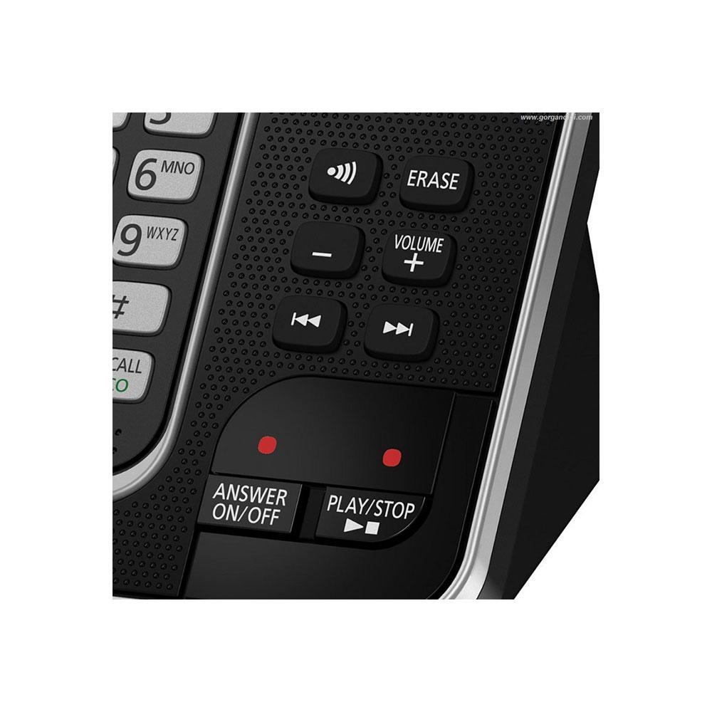 گوشی تلفن بیسیم پاناسونیک مدل Panasonic-KX-TGD320|کی پد