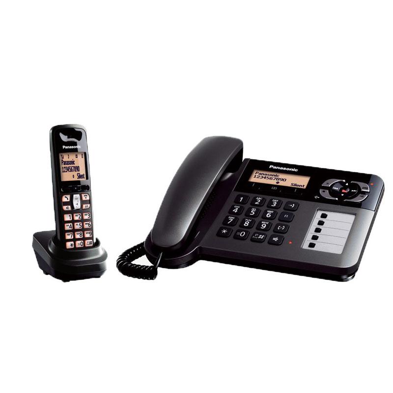 گوشی تلفن بیسیم پاناسونیک مدل Panasonic-KX-TGF120BX