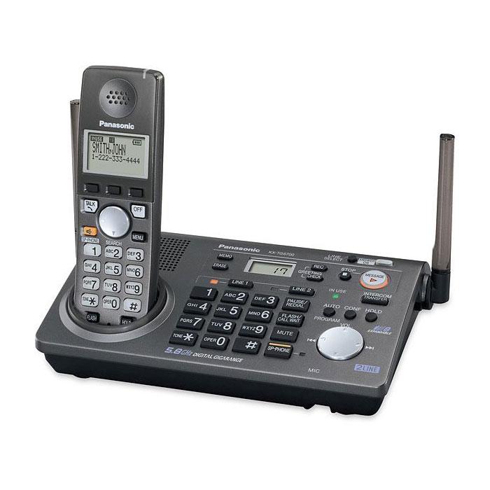 گوشی تلفن بیسیم پاناسونیک مدل Panasonic-KX-TG6700 سفارش آمریکا