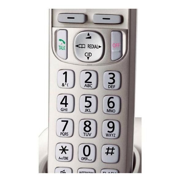 گوشی تلفن بیسیم پاناسونیک مدل Panasonic-KX-TGD220 | کی پد