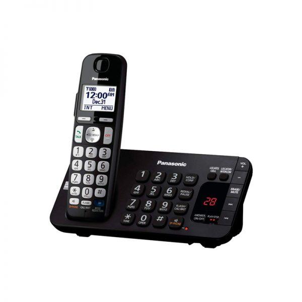 گوشی تلفن بیسیم پاناسونیک مدل Panasonic-KX-TGE245
