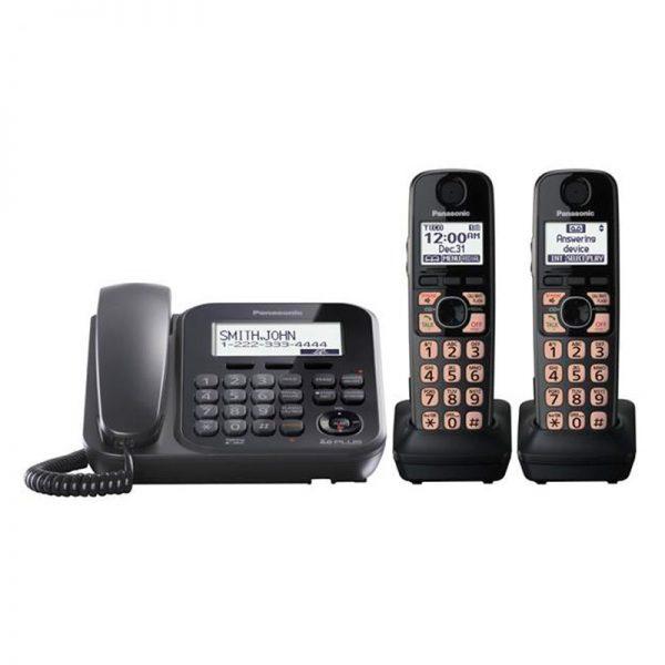 گوشی تلفن بیسیم پاناسونیک مدل Panasonic-KX-TG4772