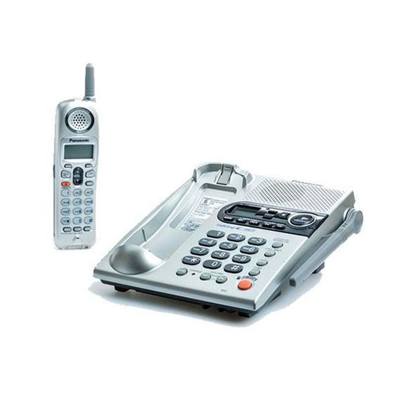 گوشی تلفن بیسیم پاناسونیک مدل Panasonic-KX-TG2360 JXS | نقره ای
