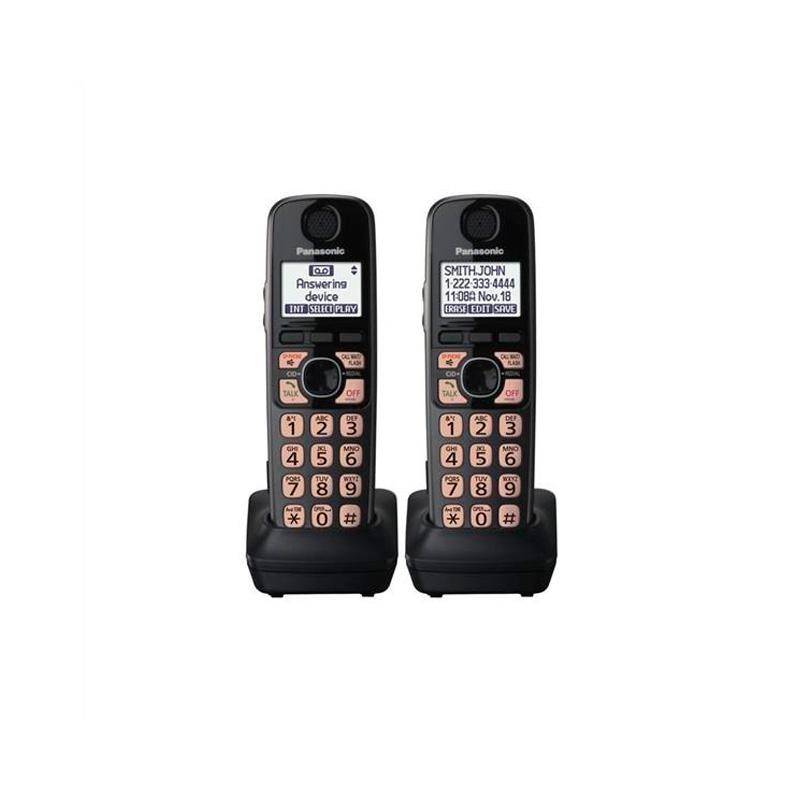 گوشی تلفن بیسیم پاناسونیک مدل Panasonic-KX-TG4772 | دو عدد گوشی بی سیم