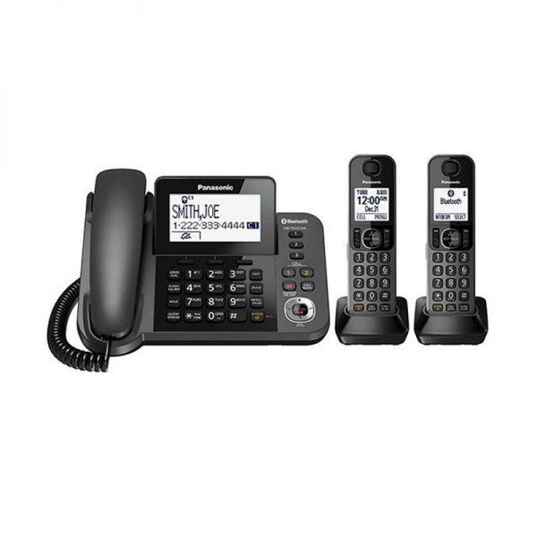 گوشی تلفن بیسیم پاناسونیک مدل Panasonic-KX-TGF352 |مشکی