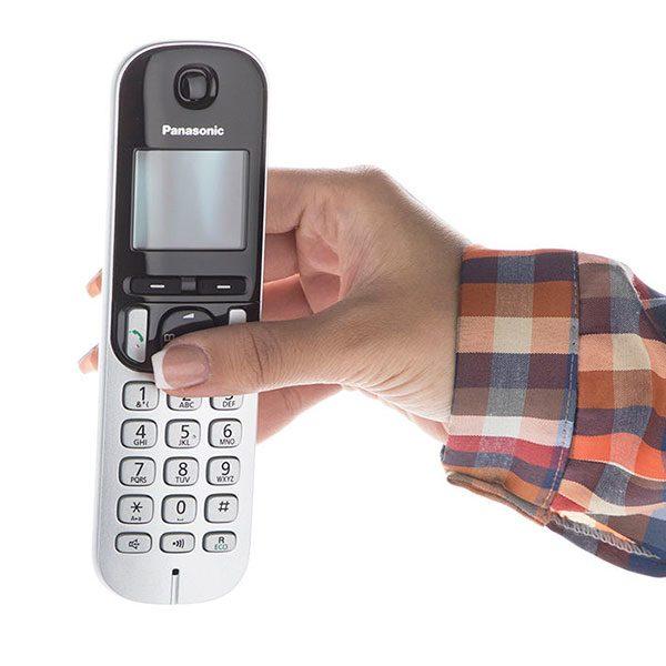 گوشی تلفن بیسیم پاناسونیک مدل Panasonic-KX-TGC210 | اندازه