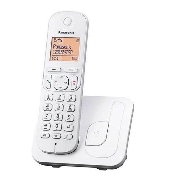 گوشی تلفن بیسیم پاناسونیک مدل Panasonic-KX-TGC210 | سفید