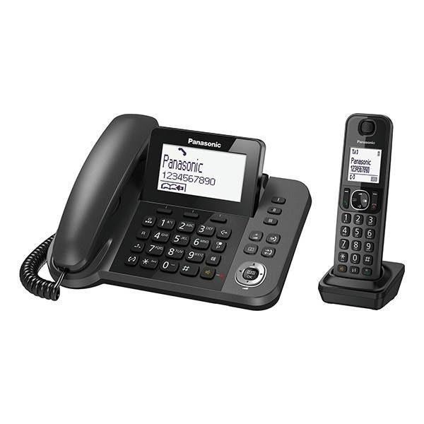 گوشی تلفن بیسیم پاناسونیک Panasonic-KX-TGF310 | مشکی