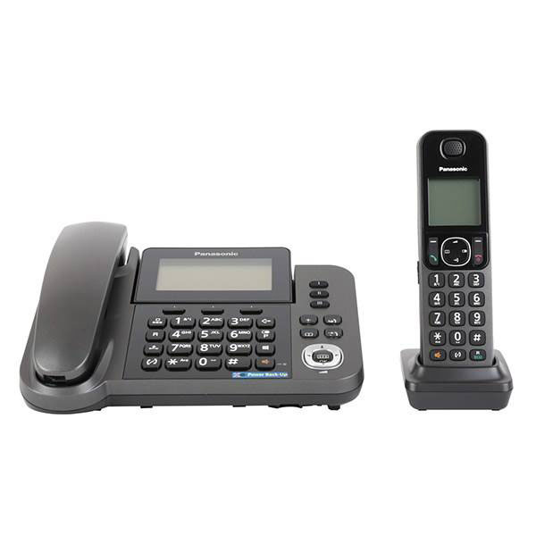 گوشی تلفن بیسیم پاناسونیک Panasonic-KX-TGF310 | خاکستری