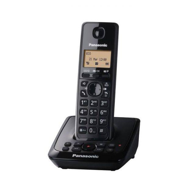 گوشی تلفن بیسیم پاناسونیک مدل Panasonic-KX-TG2721 رنگ مشکی