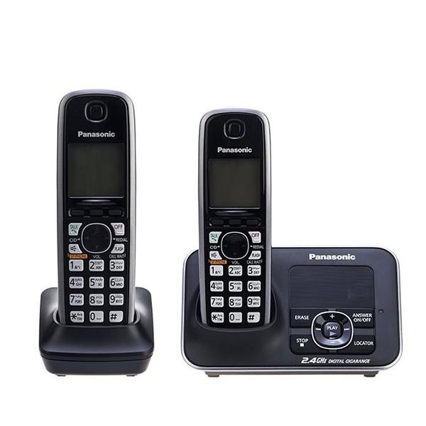 گوشی تلفن بیسیم پاناسونیک مدل Panasonic-KX-TG3722 ساخت مالزی