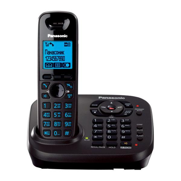 گوشی تلفن بیسیم پاناسونیک مدل Panasonic-KX-TG6561 | تغییر رنگ صفحه کلید آبی