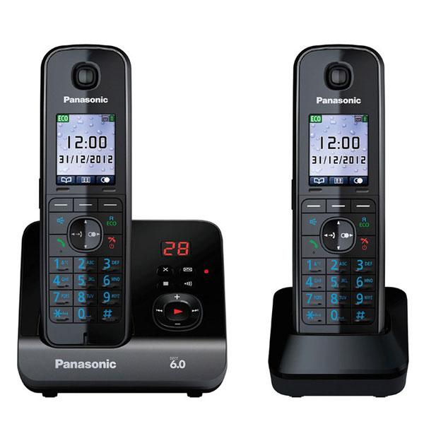 گوشی تلفن بیسیم پاناسونیک مدل Panasonic-KX-TGC8162
