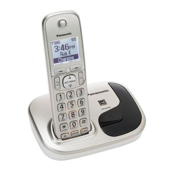 گوشی تلفن بیسیم پاناسونیک مدل Panasonic-KX-TGD210 |سفید