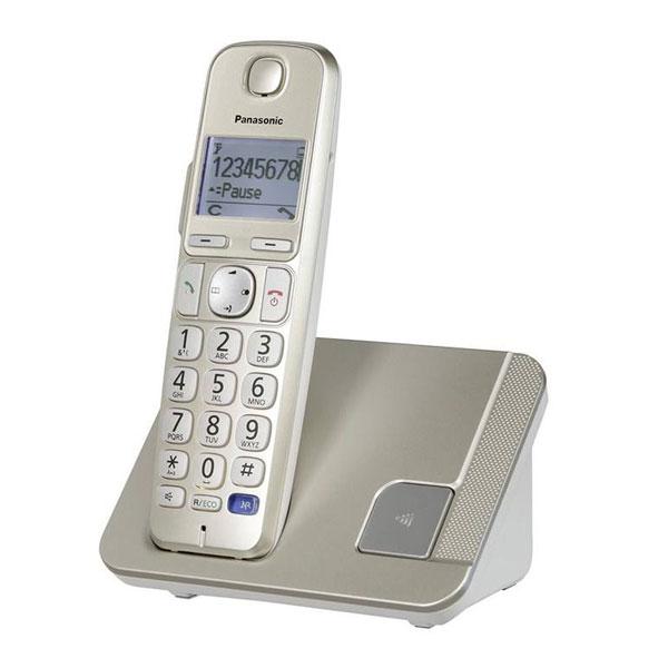 گوشی تلفن بیسیم پاناسونیک مدل Panasonic-KX-TGE210