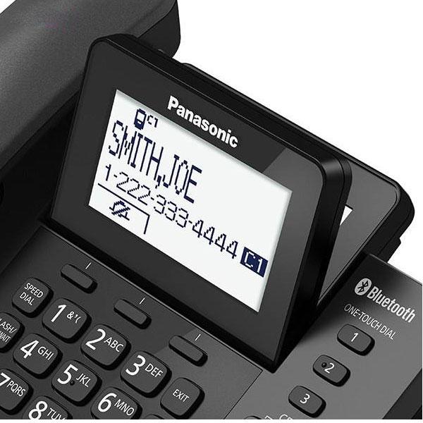 گوشی تلفن بیسیم پاناسونیک Panasonic-KX-TGF380 | صفحه نمایش