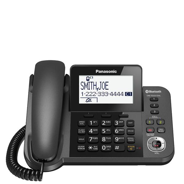 گوشی تلفن بیسیم پاناسونیک Panasonic-KX-TGF380 | تلفن رومیزی