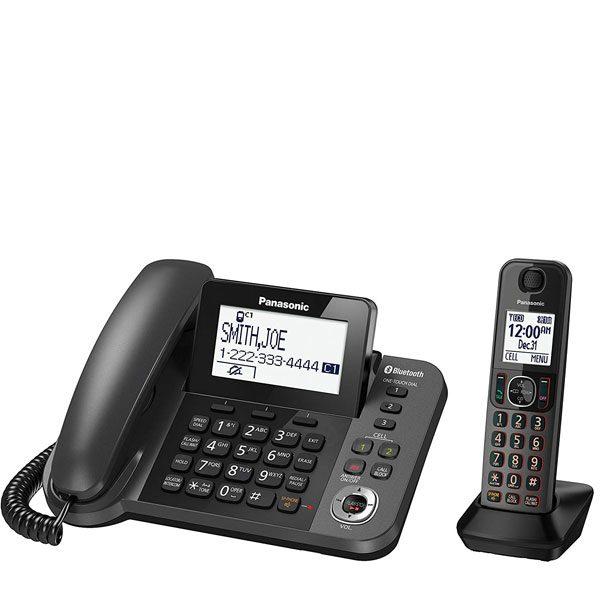 گوشی تلفن بیسیم پاناسونیک Panasonic-KX-TGF380