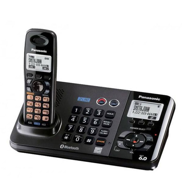 گوشی تلفن بیسیم پاناسونیک مدل Panasonic-KX-TG9385BX