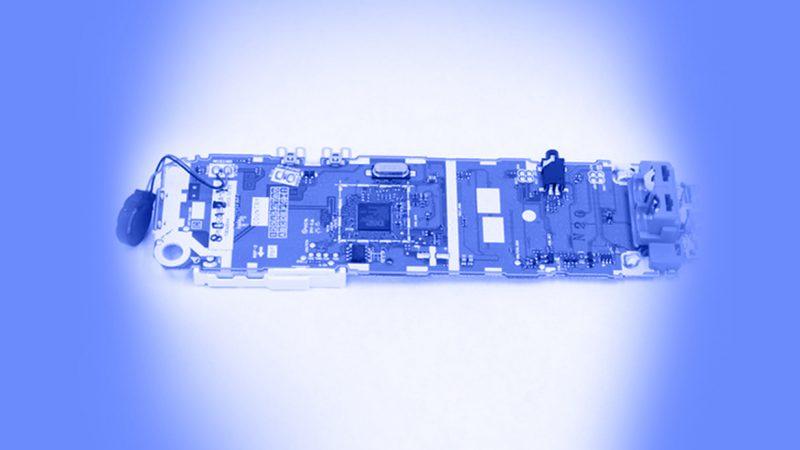 تعمیر تلفن - برداشتن و جایگزین کردن بلندگوی جلو گوشی تلفن