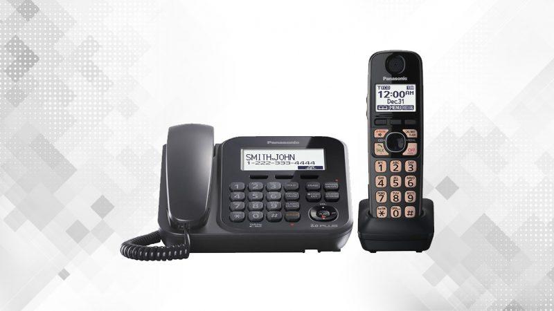 گوشی تلفن بیسیم پاناسونیک مدل KX-TG4771