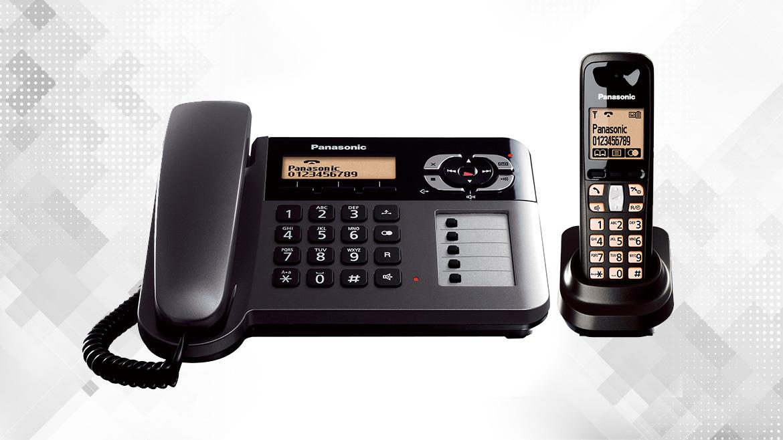 گوشی تلفن بیسیم پاناسونیک مدل KX-TG6461