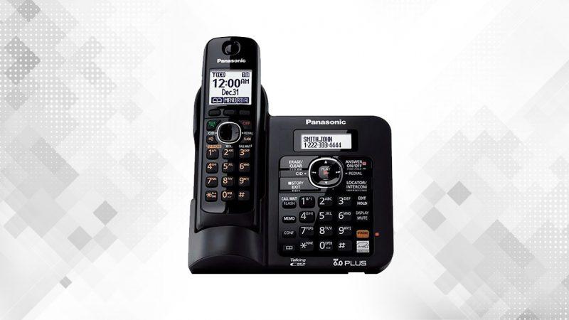 گوشی تلفن بیسیم پاناسونیک مدل Panasonic-KX-TG3821BX | بنر
